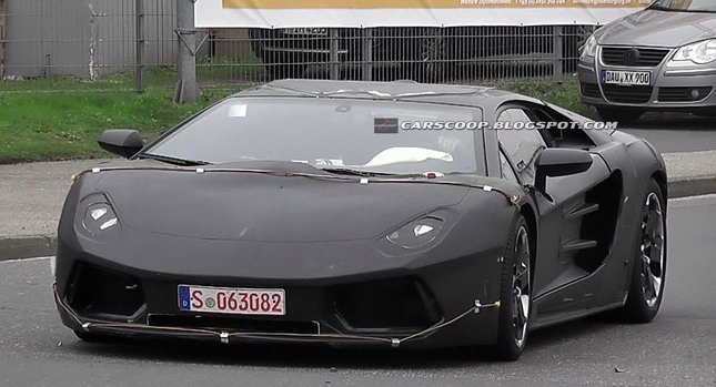 Attractive Lamborghini Jota Superfast Sports Car Amazing Design